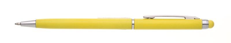 plastová propiska NOBLA žlutá