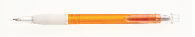 plastová propiska PROSTO oranžová