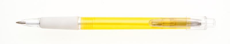 plastová propiska PROSTO žlutá