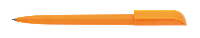 plastová propiska ROTATE oranžová