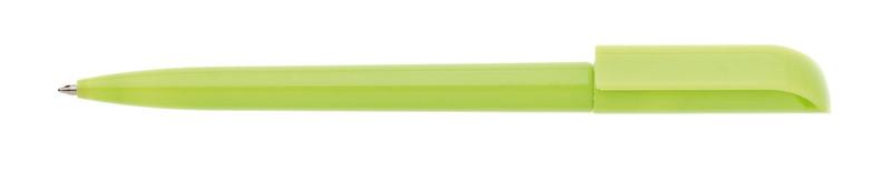 plastová propiska ROTATE světle zelená