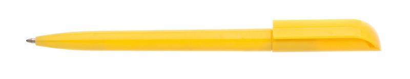plastová propiska ROTATE žlutá