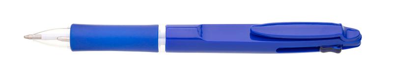 plastová propiska BARNA modrá