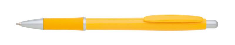 plastová propiska SUTRI žlutá