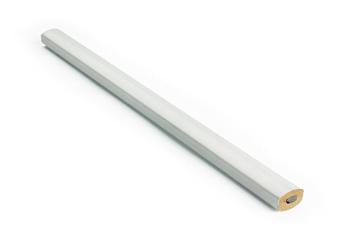 tesařská tužka BOB bílá