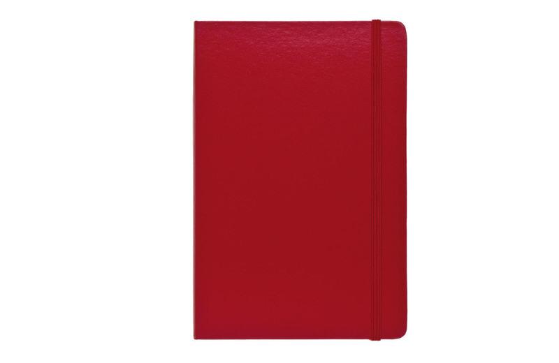 zápisník RECORD červená