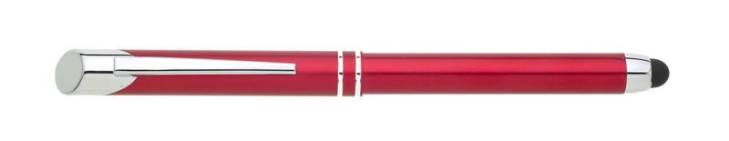 kovový roller PREMIO touch červená