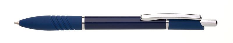 plastová propiska MIRA GEL modrá